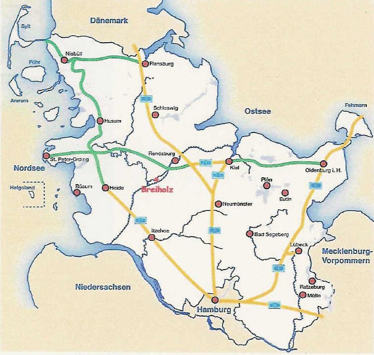 Ostsee Karte Schleswig Holstein.Hof Kanalblick Am Nord Ostsee Kanal Nordsee Ostsee Schleswig